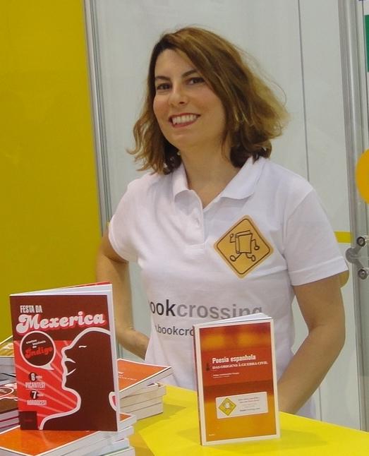 Helen Castello Branco_Bienal do Livro_BookCrossing