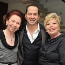 Anita Schuartz, Olívio Guedes e Stela Blay