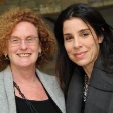 Lia Strauss e Raquel Davidowicz