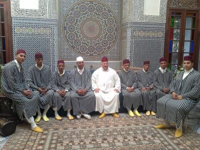 Said Guissi Aisawa (Grupo marroquino de música Sufi)