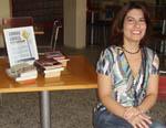 Helena Castello Branco, gestora do movimento BookCrossing