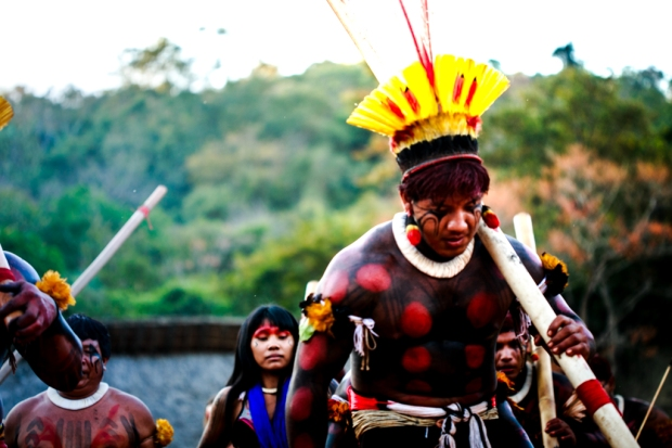 Etnia Yawalapiti, do Xingu. Foto: Bruna Brandão